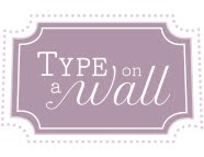 Type On A Wall logo