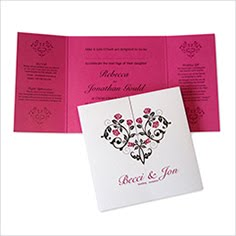 Rose Heart invite