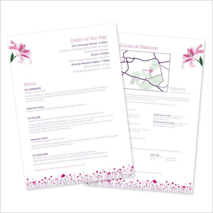 Lily Information Sheets