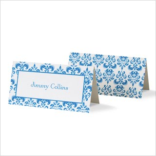 Damask Placecards