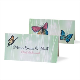 Butterflies Placecards