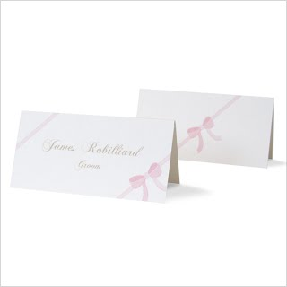 Ribbon Placecards